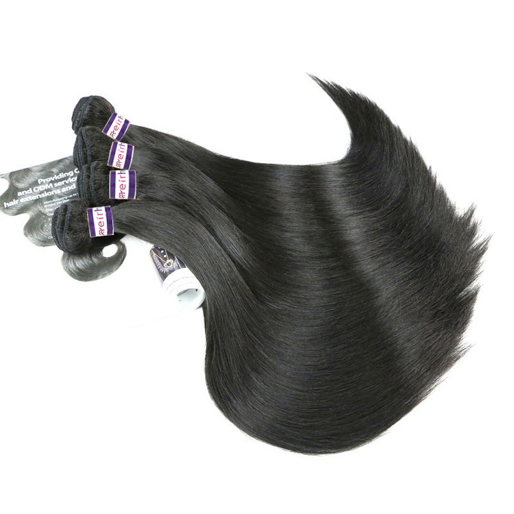 12A Best Quality Brazilian Raw Hair Straight Can Bleach #613