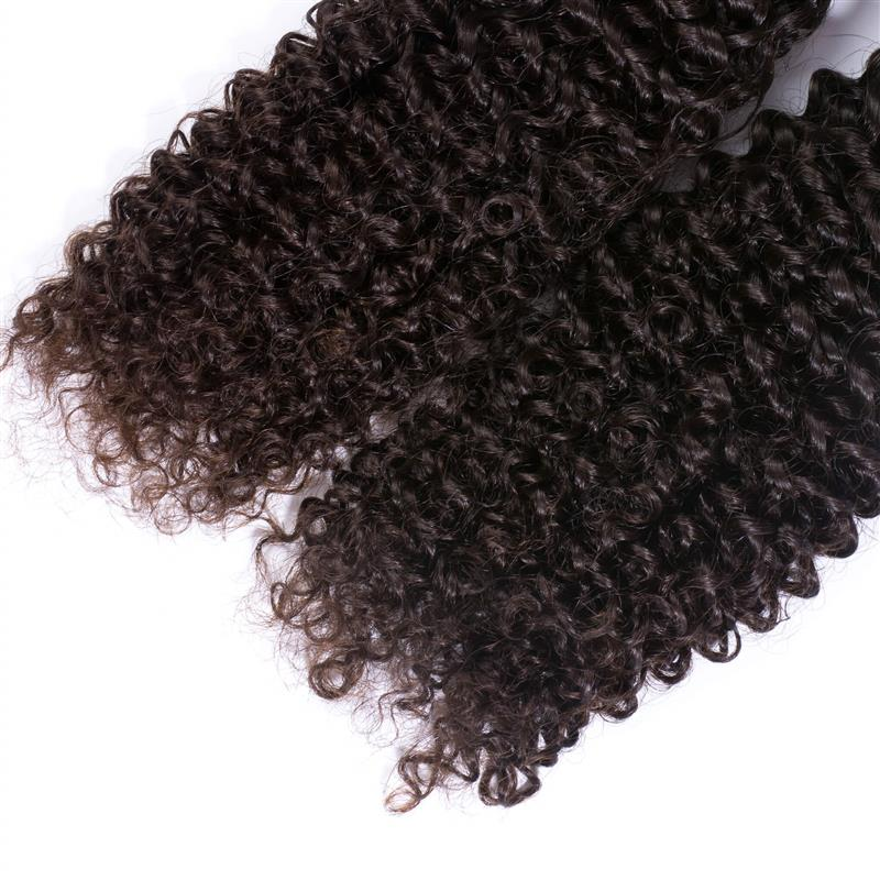 9A Brazilian Kinky Curly Human Hair