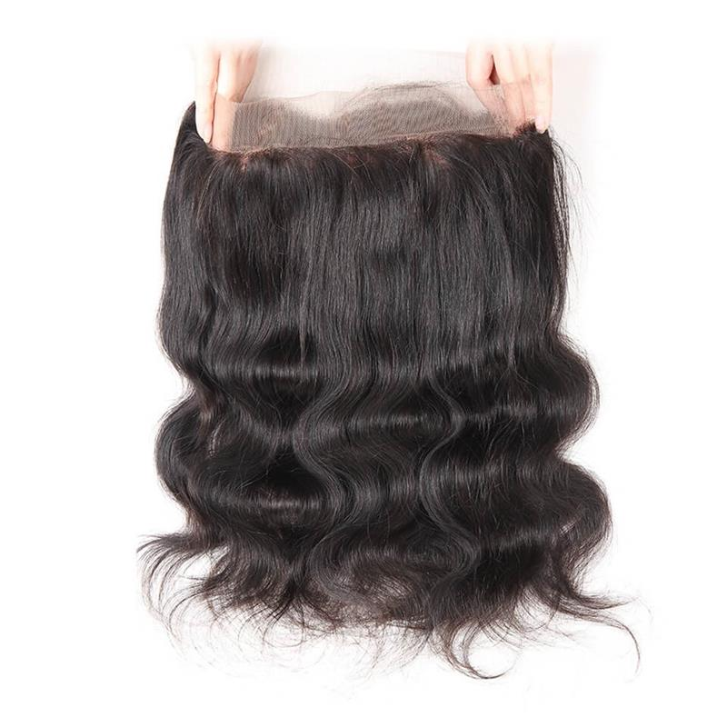 360 Closure Body Wave Brazilian Hair
