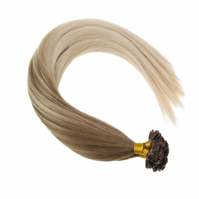 Flat Tip Hair Extensions - Ombres