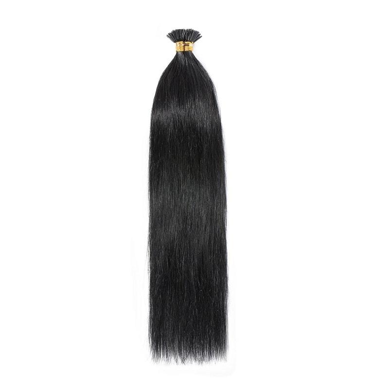 I-Tip Hair Extensions - Blacks