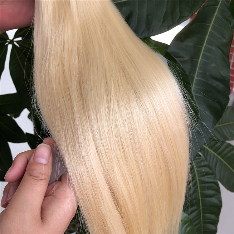 Straight Blonde Hair Wholesale