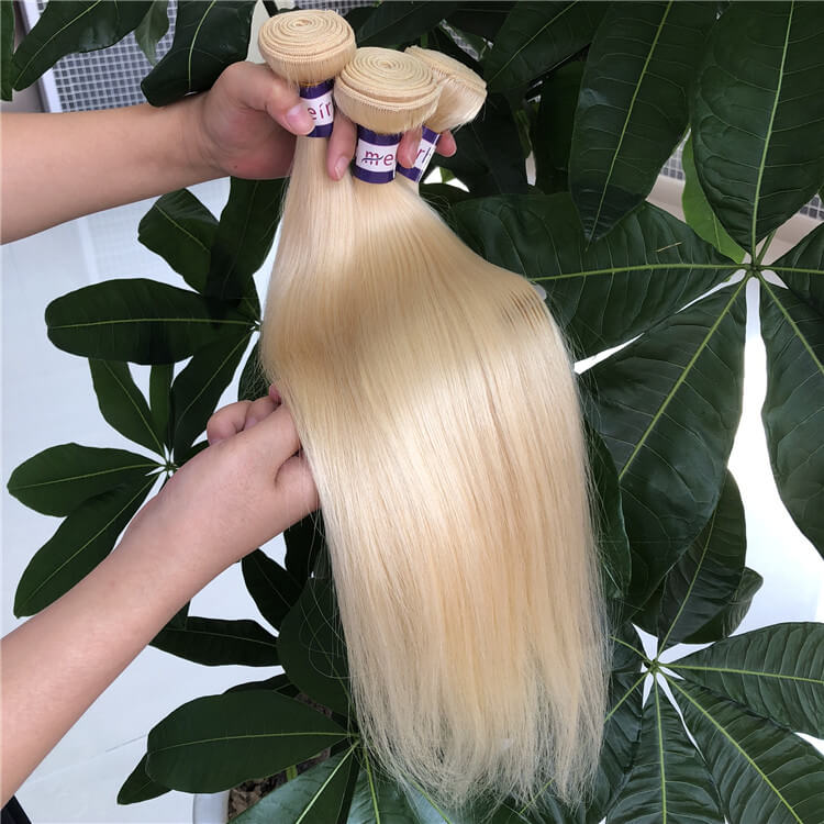 Straight Blonde Hair Wholesale