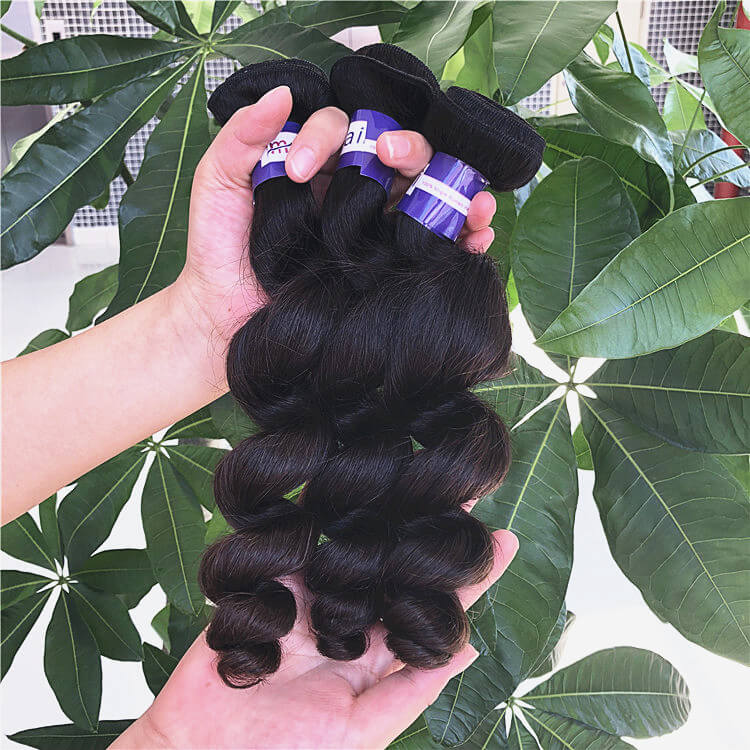 Wholesale Virgin Loose Wave Bundles