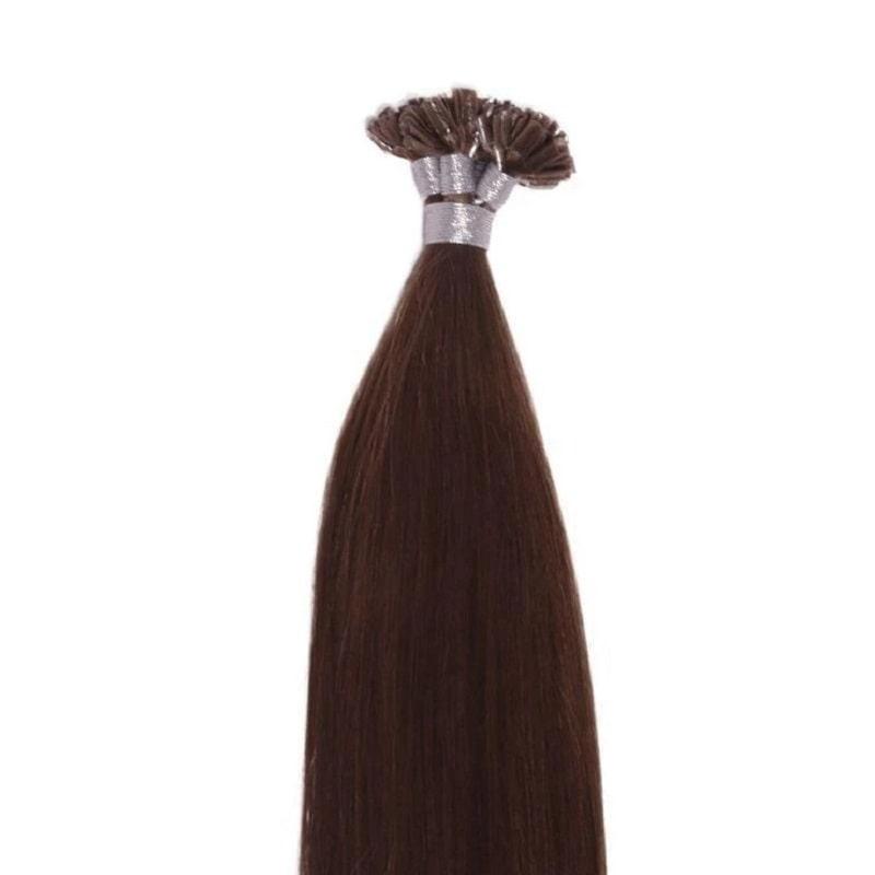U-Tip Hair Extensions - Browns