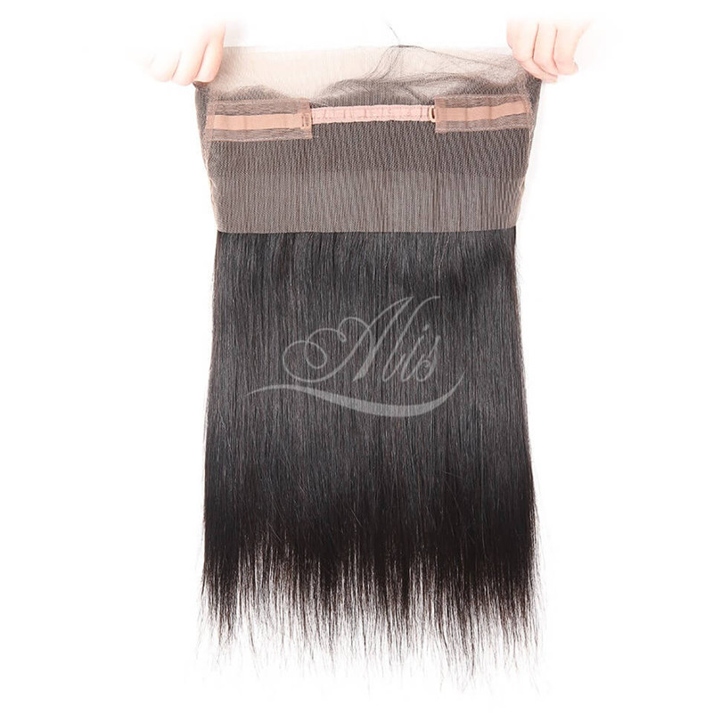 360 Lace Closure Brazilian Straight