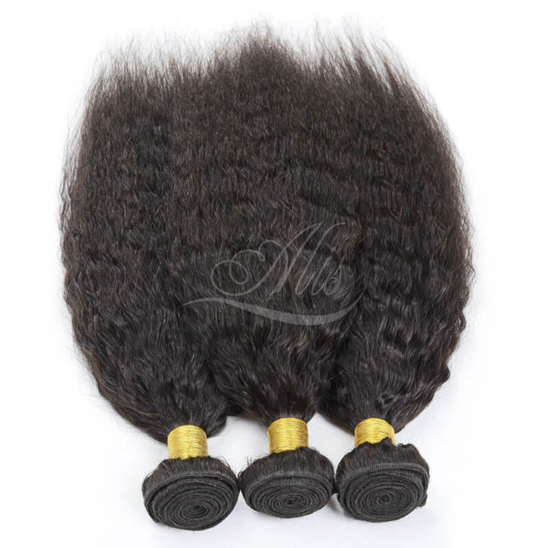 8A Brazilian Yaki Straight Hair Extensions