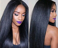 How to get brazilian weave hair naturally straight