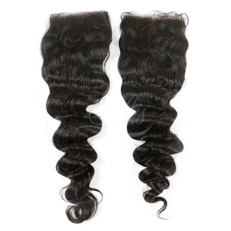 Brazilian Loose Wave Closure Free Part