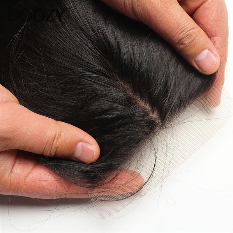 Brazilian Silk base Closure Straight Hair