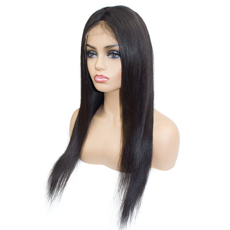Brazilian Straight Lace Front Wigs