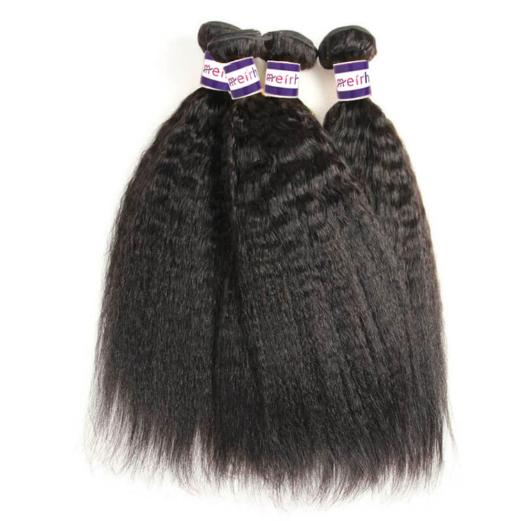 10A Brazilian Yaki Straight Hair Extensions