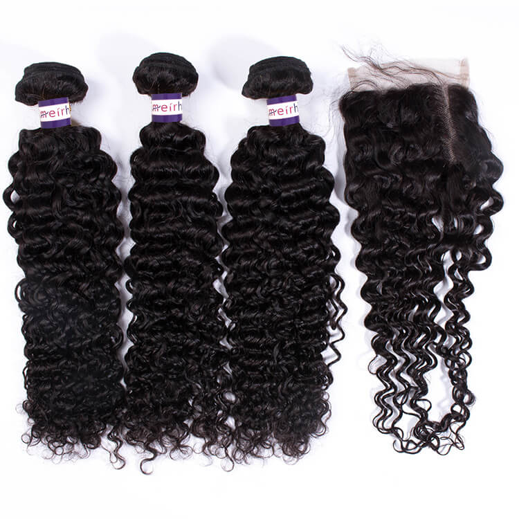 10A Brazilian Curly Hair Weave styles