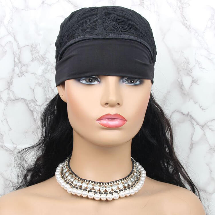 Headband Wig With Bangs