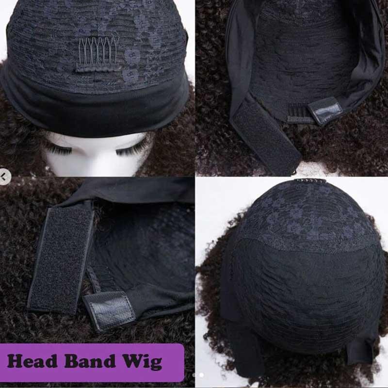 African American Headband Wigs