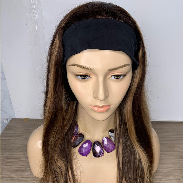 Fall Wig With Headband