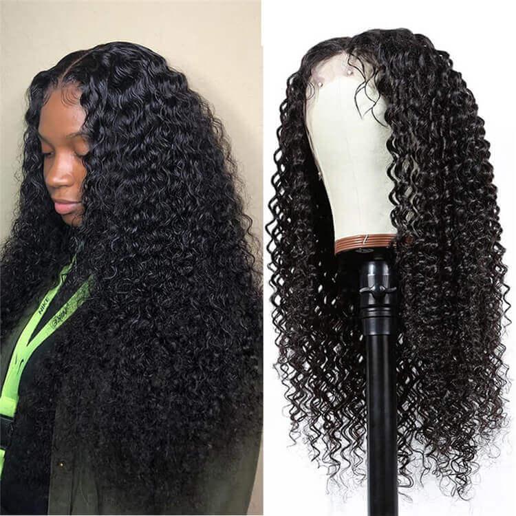 HD Lace Kinky Curly Wig