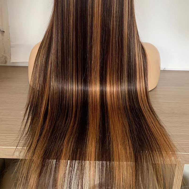 Ombre Full Lace Human Hair Wigs