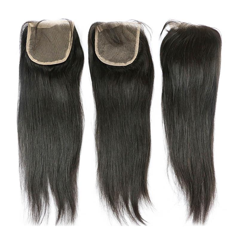 Brazilian Hair Straight Hair Lace Closure