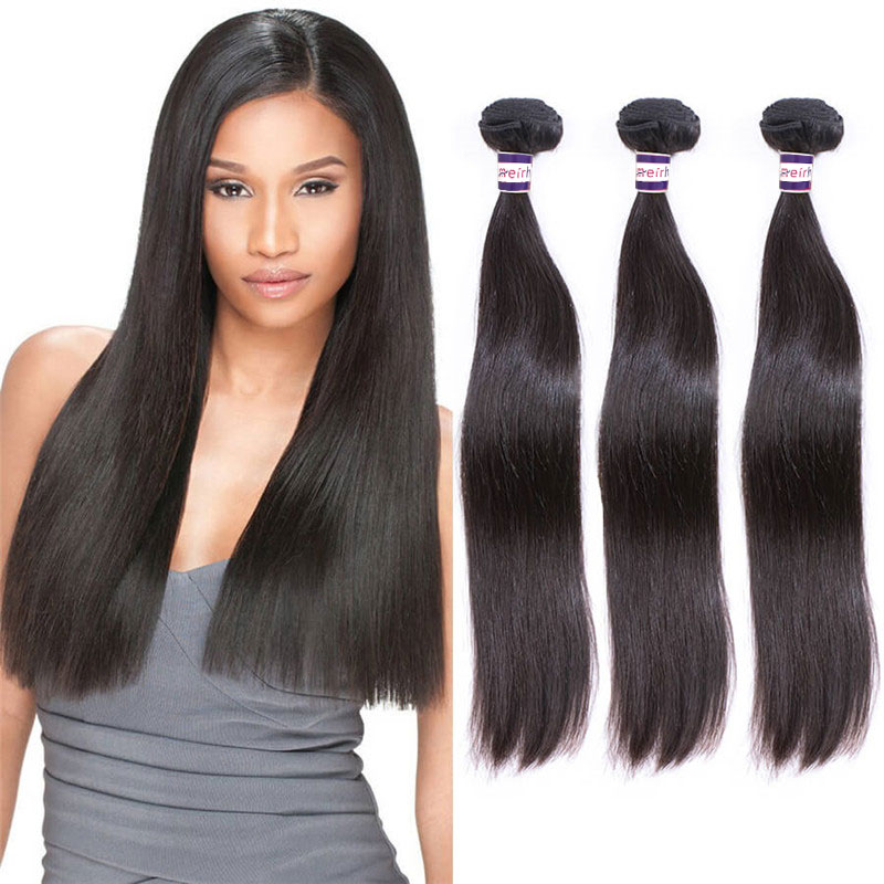 Raw Cambodian Straight Virgin Hair Bundles Vendors
