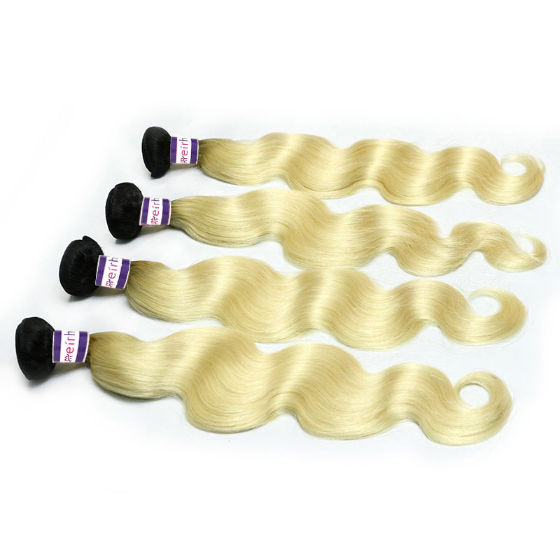 Body Wave Brazilian Weave Ombre Color 1B/613