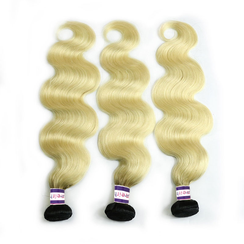 Body Wave Brazilian Weave Ombre Color 1B/613