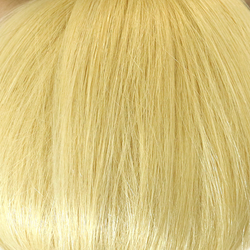 613 Straight Hair Blonde Color