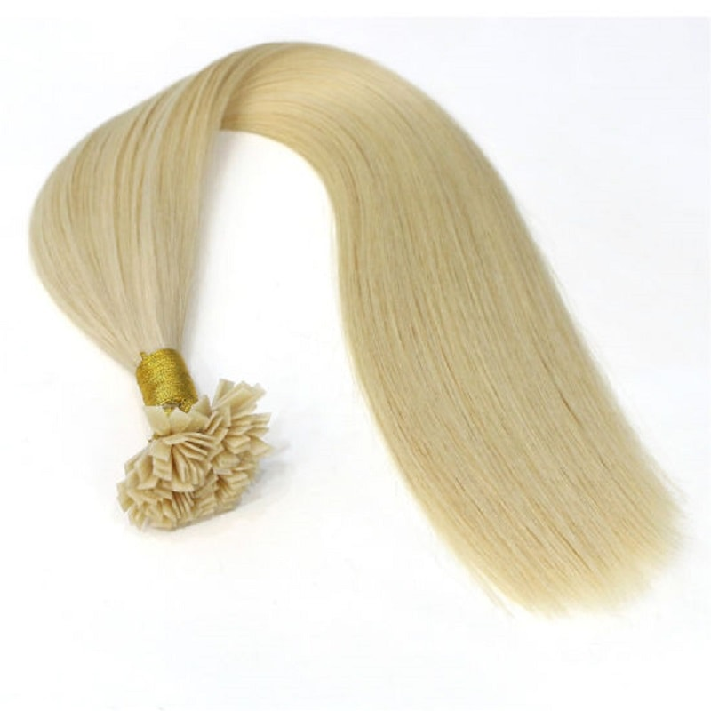 Flat Tip Hair Extensions - Blondes