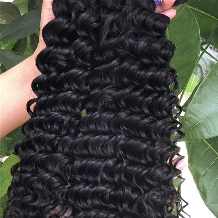 Malaysian Hair Factory Deep Curly