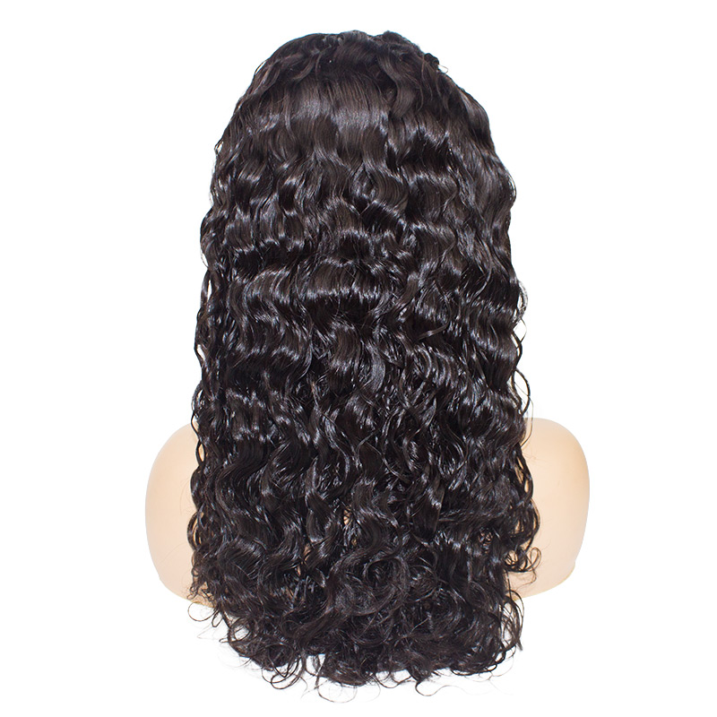 Brazilian Natural Wave Virgin Remy Hair Lace Front Wigs