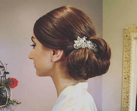 updo hair style for wedding